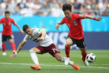 Lee Jae-Sung Korea Republic vs. Mexico: Group F - 2018 FIFA World Cup Russia