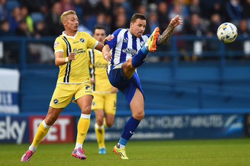 Lee Martin Chris Maguire Sheffield Wednesday v Millwall