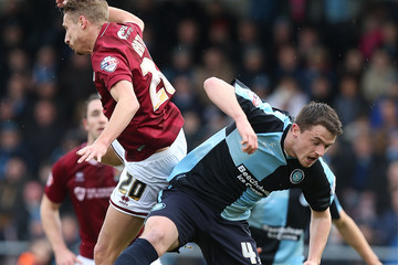 Lee Martin Northampton Town v Wycombe Wanderers - Sky Bet League Two