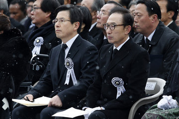 Lee Myung-Bak Former President Kim Young Sam State Funeral