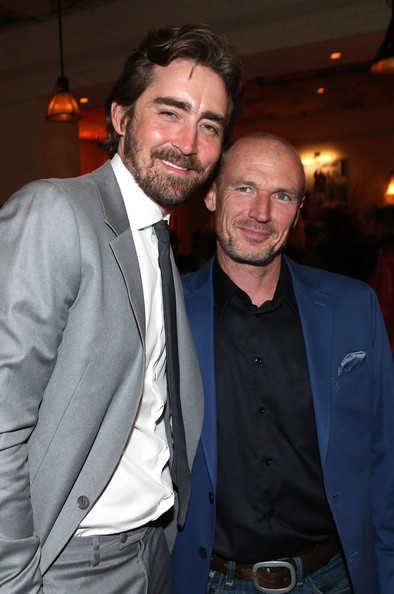 'Halt and Catch Fire' Premieres at Hollywood [halt and catch fire,series,series,suit,facial hair,event,formal wear,beard,white-collar worker,smile,tuxedo,toby huss,lee pace,los angeles,amc,party,party,premiere]