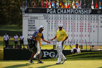 277a1ad48e642 Lee Westwood Mike Kerr PGA Championship  Round 1
