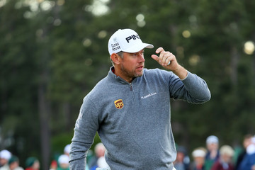 Lee Westwood The Masters - Round One