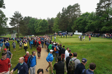 Lee Westwood Rory McIlroy BMW PGA Championship - Day Two