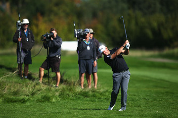 Lee Westwood KLM Open - Day One
