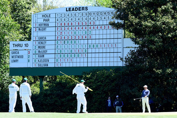 Lee Westwood The Masters - Round Two