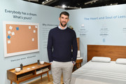 Leesa's Night of Dreams Party With Michael Phelps at West Elm