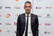 Robin van Persie attends the 21st Legends of football event to celebrate 25 seasons of the Premier League and raise money for music therapy charity Nordoff Robbins at The Grosvenor House Hotel on October 5, 2016 in London, England.