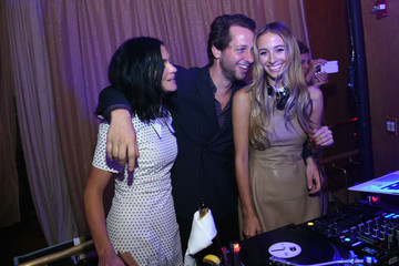 Leigh Lezark Harley Viera-Newton Michael Kors Hosts the New Gold Collection Fragrance Launch Featuring Duran Duran
