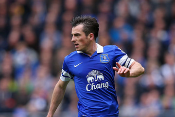 Leighton Baines Everton v Arsenal - Premier League