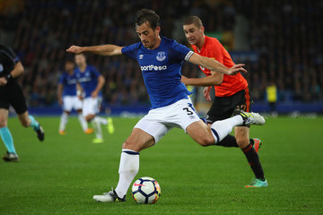 Leighton Baines Everton v MFK Ruzomberok - UEFA Europa League Third Qualifying Round: First Leg