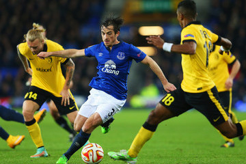 Leighton Baines Everton FC v LOSC Lille