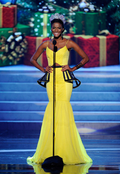 Leila Lopes - 2012 Miss Universe Pageant