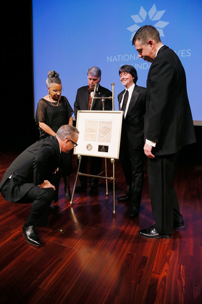 National Archives Foundation Honor Tom Hanks at Records of Achievement Award Gala