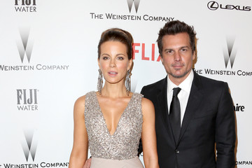 Len Wiseman Weinstein Company and Netflix Golden Globes Party