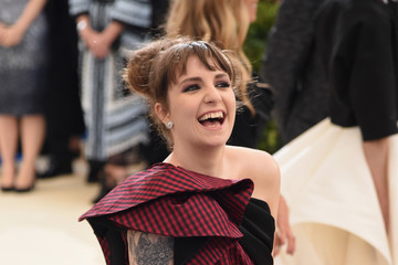 "Lena Dunham ""Rei Kawakubo/Comme des Garcons: Art of the In-Between"" Costume Institute Gala - Arrivals"