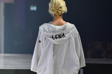 Lena Gercke s.Oliver THE FUSION COLLECTION Fashion Show in Frankfurt