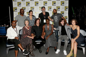 Lennie James AMC at Comic Con 2017 - Day 2