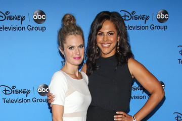 Lenora Crichlow Disney and ABC Stars Gather in Beverly Hills