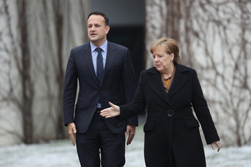 Leo Varadkar European Best Pictures Of The Day - March 20, 2018