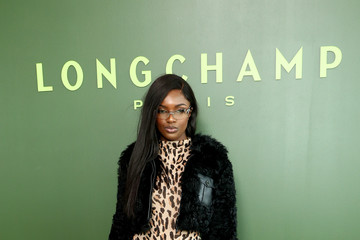 Leomie Anderson Longchamp - Front Row - February 2020 - New York Fashion Week: The Shows