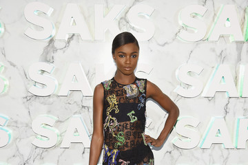 Leomie Anderson Saks Celebrates New Main Floor With Lupita Nyong'o, Carine Roitfeld And Musical Performance By Halsey