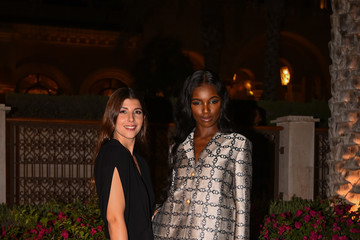 Leomie Anderson Tory Burch Dinner and After Party