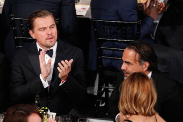 Leonardo DiCaprio Inarritu The 22nd Annual Screen Actors Guild Awards - Backstage and Audience