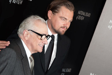 Leonardo DiCaprio Martin Scorsese Arrivals at the National Board of Review Awards Gala