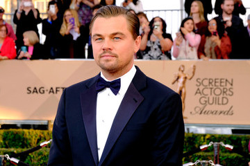 Leonardo DiCaprio The 22nd Annual Screen Actors Guild Awards - Trophy Room