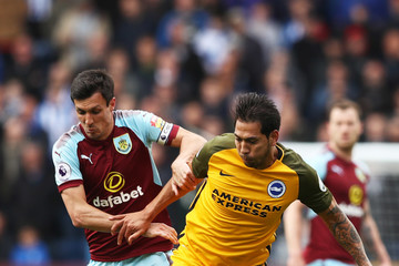 Leonardo Ulloa Burnley vs. Brighton And Hove Albion - Premier League
