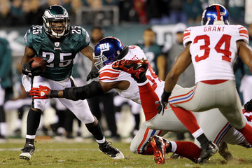 LeSean McCoy vs. Giants