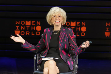 Lesley Stahl Tina Brown's 7th Annual Women in the World Summit - Day 2