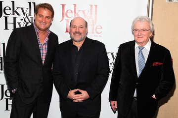 Leslie Bricusse Jeff Calhoun Arrivals at 'Jekyll & Hyde: The Musical'