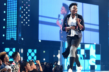 Leslie Jones 2017 BET Awards - Roaming Show