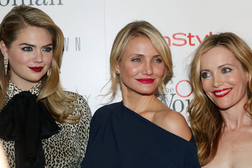 """Leslie Mann Kate Upton The Cinema Society & Bobbi Brown With InStyle Host A Screening Of """"The Other Woman"""""""