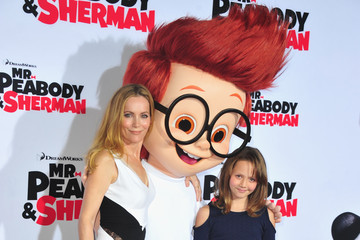 Leslie Mann 'Mr. Peabody & Sherman' Premieres in Westwood