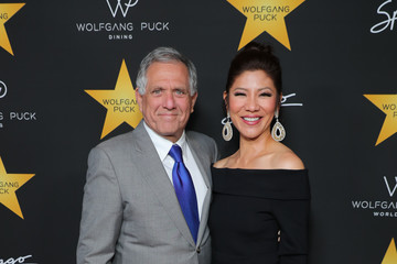 Leslie Moonves Gelila Assefa Puck Hosts Celebration in Honor of Wolfgang Puck Receiving a Star on the Hollywood Walk of Fame - Arrivals