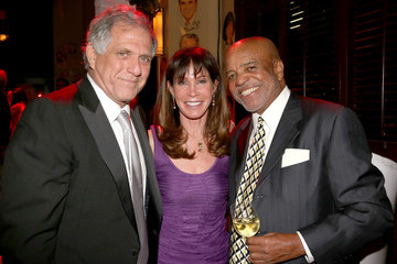 Leslie Moonves Stars at Sony's Post-Grammy Reception