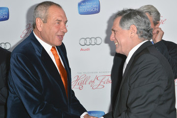 Leslie Moonves Red Carpet Arrivals at the Hall Of Fame Induction Gala