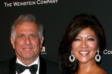 Leslie Moonves Arrivals at the Weinstein's Golden Globes Afterparty