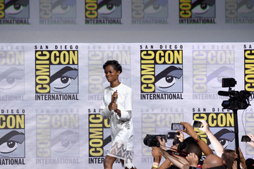 Letitia Wright Comic-Con International 2017 - Marvel Studios Presentation