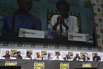 Letitia Wright Marvel Studios Hall H Panel