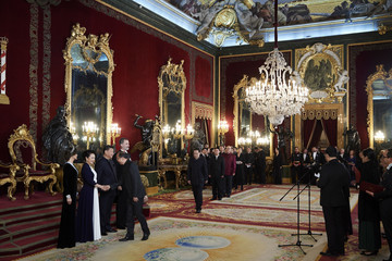 Letizia of Spain Spanish Royals Host A Dinner Gala For Chinese President Xi Jinping