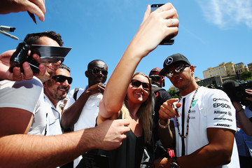 Lewis Hamilton F1 Grand Prix of Monaco - Previews