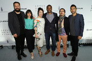 """(L-R) Campbell Hooper, Cristina Molino, Mitsuyo Miyazaki, Ryan Coogler, Chan Chung Ki and Justin Tipping attend the Lexus Short Film Series """"Life Is Amazing"""" presented by The Weinstein Company and Lexus at Olympia Theatre on May 19, 2013 in Cannes, France."""