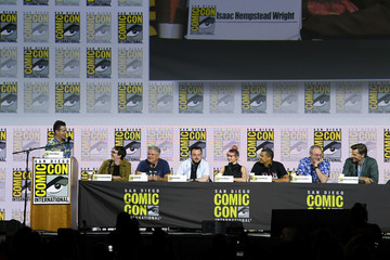 Liam Cunningham Isaac Hempstead Wright 2019 Comic-Con International - 'Game Of Thrones' Panel And Q&A