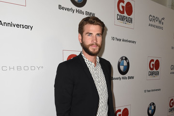 Liam Hemsworth 10th Annual GO Campaign Gala