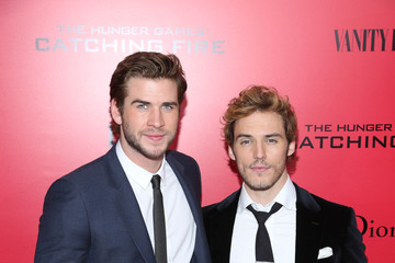 Liam Hemsworth Sam Claflin 'The Hunger Games: Catching Fire' Premieres in NYC — Part 2