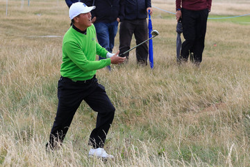 Lian-wei Zhang The Senior Open Championship - Day One